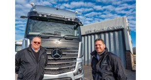ETS is the new name driving Mercedes-Benz Trucks aftersales service in Dorset