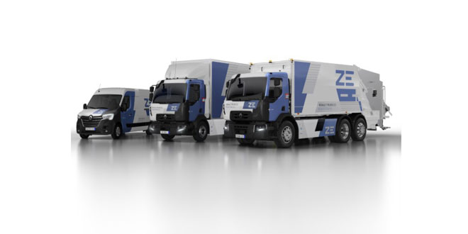 Renault Trucks broadens its all-electric Z.E. range